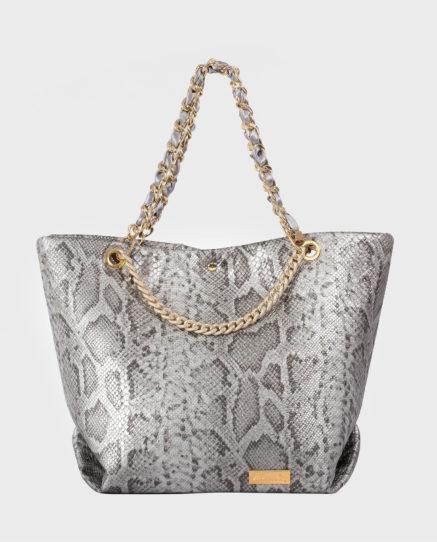 Wonderbag borsa argento
